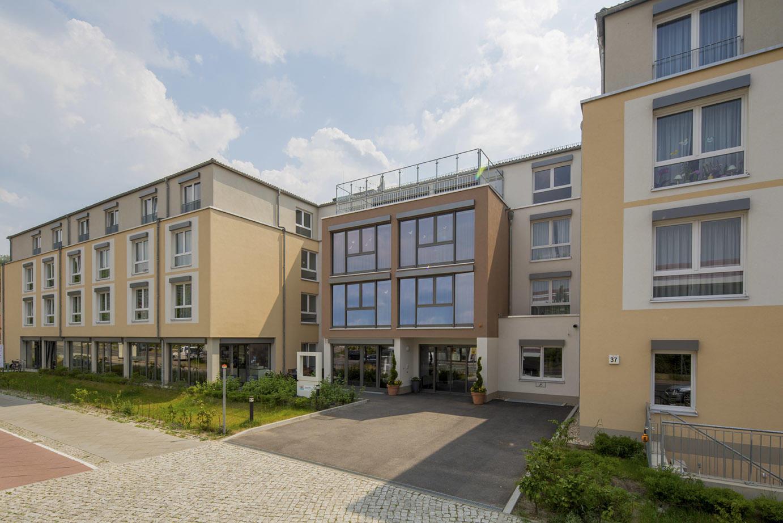 Fürsorge im Alter Seniorenresidenz Biesdorfer Höhe